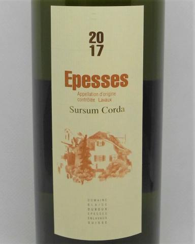Epesses, Sursum Corda - 70cl - Blaise Duboux