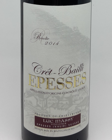 Epesses, Crêt-Bailli - 70cl - Luc Massy
