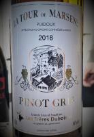 La Tour de Marsens Pinot Gris - Les Frères Dubois